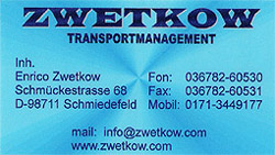ZWETKOW Transportmanagement